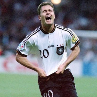 """Διαβάστε για το Euro 1996. Διαβάστε για την Γερμανία και το """"χρυσό γκολ"""" του Όλιβερ Μπίρχοφ στον τελικό απέναντι στην πολύ ισχυρή Τσεχία."""