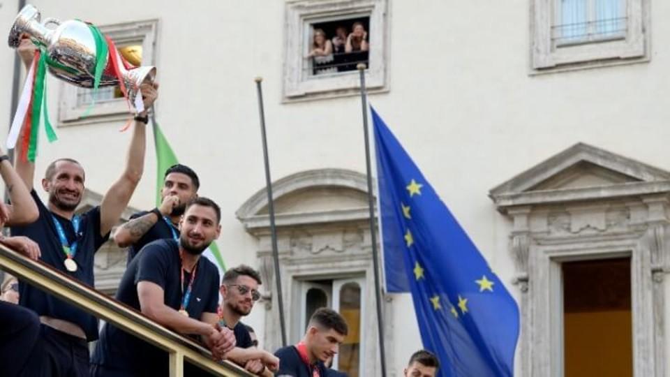 Η μεγάλη γιορτή της Ιταλίας στη Ρώμη